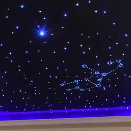 家庭影院装修设计之星空顶是怎样的