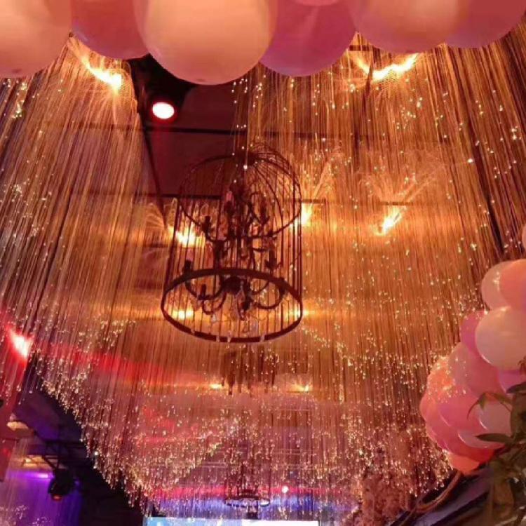 光纤星空顶装饰酒吧清吧吊顶网红灯